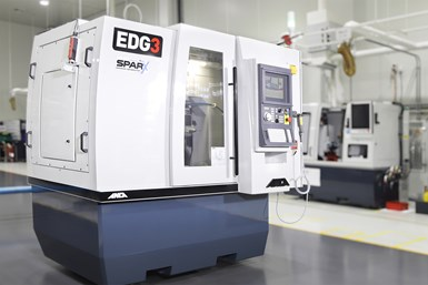 A press photo of Anca's EDG3 with Anca Motion's SparX Erosion Generator