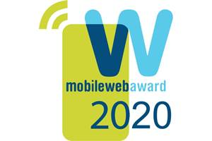 Up! Network Wins a MobileWebAward