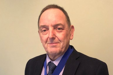 A photo of Andy Hodgson, the new president of the Manufacturing Technology Association