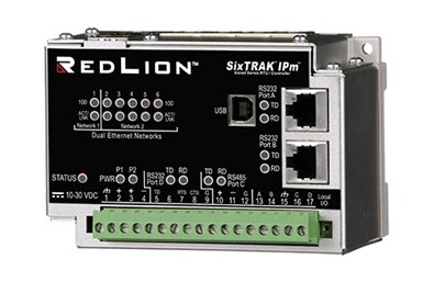 A press image of Red Lion's new SixTRAK RTU, the ST-IPm-8460
