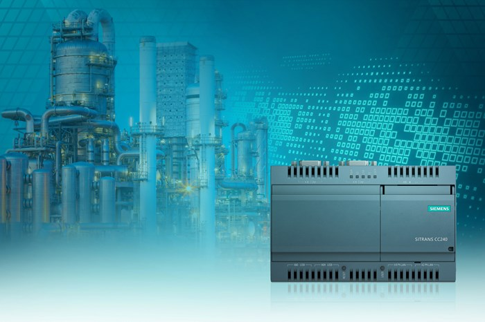 Siemens Sitrans CloudConnect 240 Extends Digital Awareness