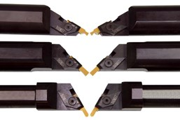A press image of Thinbit's angled round toolholders