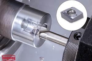 TungBore-Mini Boring Toolholders Improve Chip Evacuation