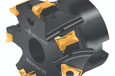 A partial rendering of Walter's M5137 shoulder milling cutter