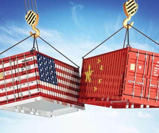 US and China crates