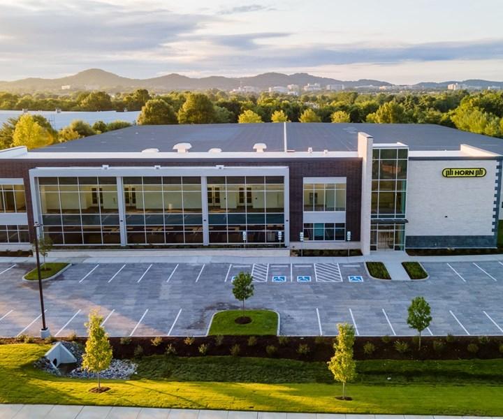 Horn USA facility.