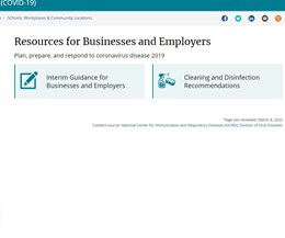 site screen shot