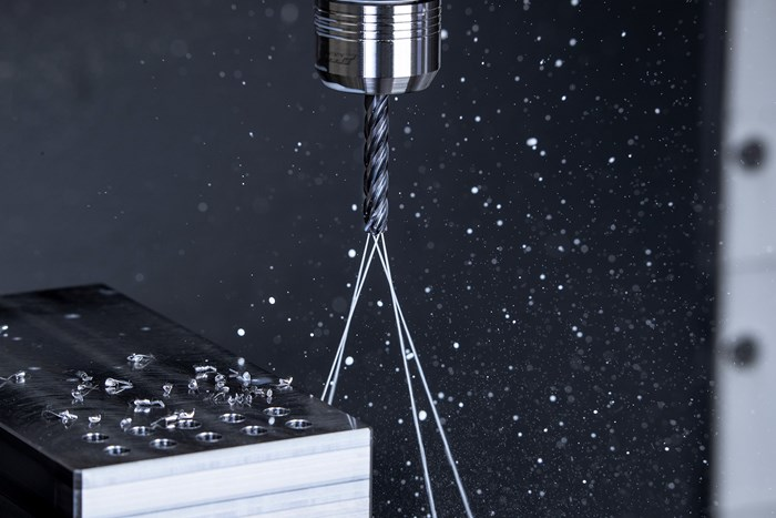 Four-Fluted Drill Increases Precision with Four Cutting Edges