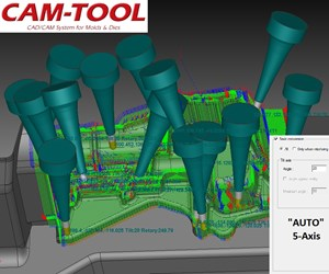 Software Decreases Movement for Smoother, More Accurate Tool Paths