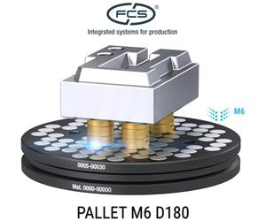 Round Pallet Enables Machining with Easier Access Around Workpieces