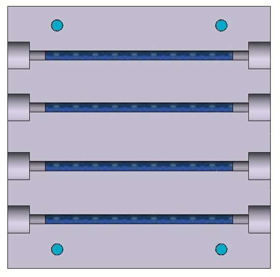 CAD of mold base