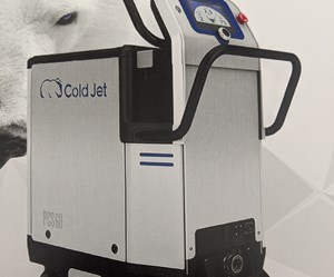 Dry Ice Blaster Provides Versatility in Cleaning Applications