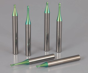 Micro End Mills Offer Longer Tooling Life