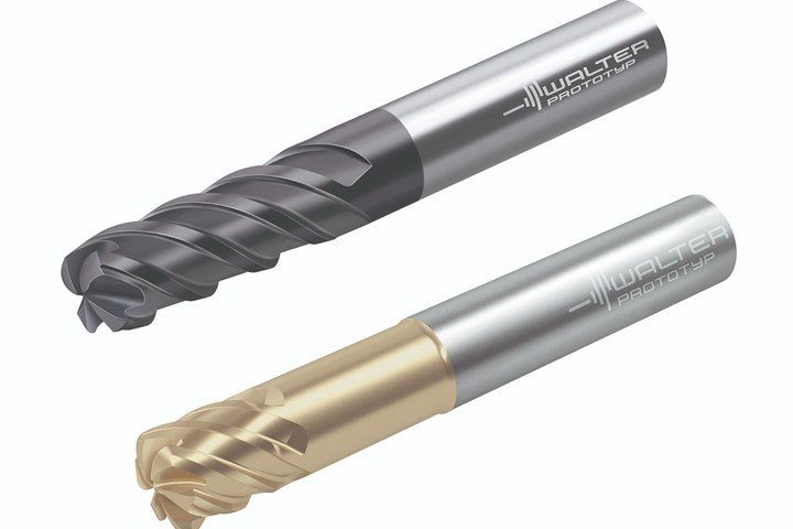 Walter MC025 Advance and MD025 Supreme milling cutters