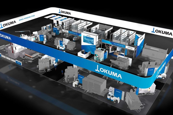 Okuma America Corporation virtual, global showroom