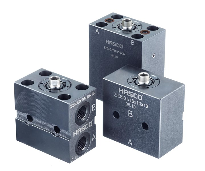 Hasco double-acting clamping cylinders