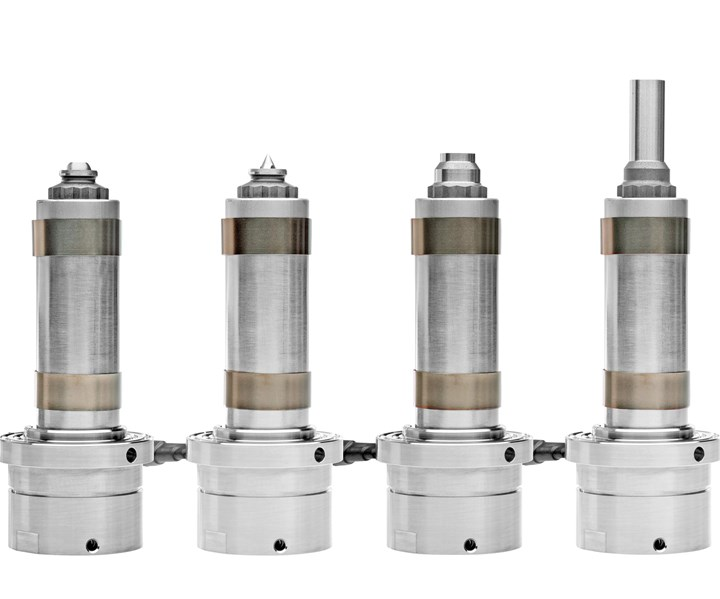 Hasco extended single shot nozzle series