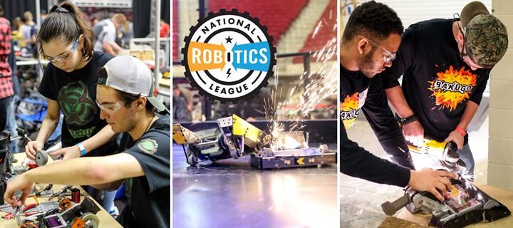 Big Kaiser raises funds for the National Robotics League