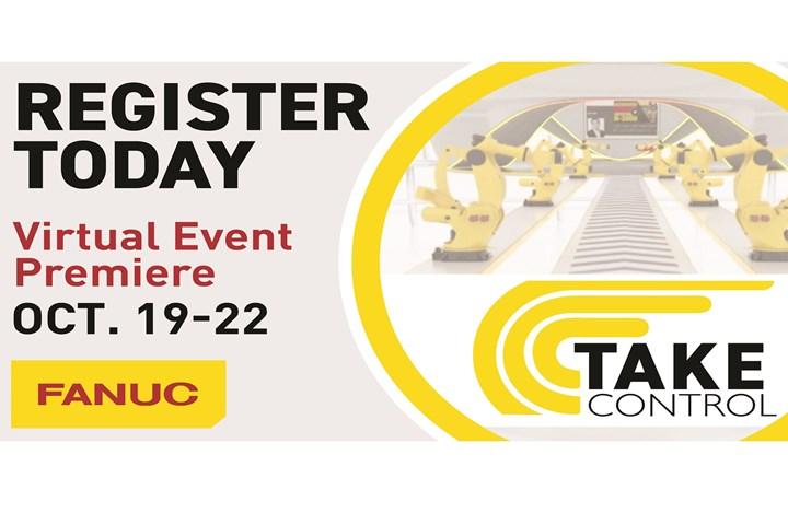 FANUC virtual event on automation and robotics