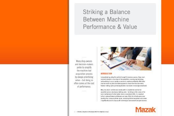 Mazak Corporation White Paper Provides Manufacturing Insight  image