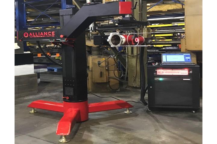 International Mold Steel offers laser engraving service