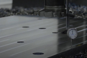 Steel Plate Manufacturing Process Enables Easier, More Accurate Installation of Components
