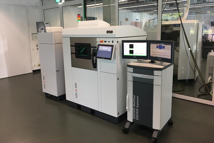 EOS 290 3D metal printing machine