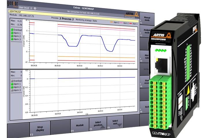 Marposs GEMGP monitoring system