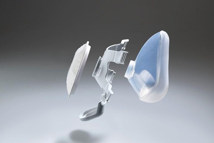Arburg mask holder filter