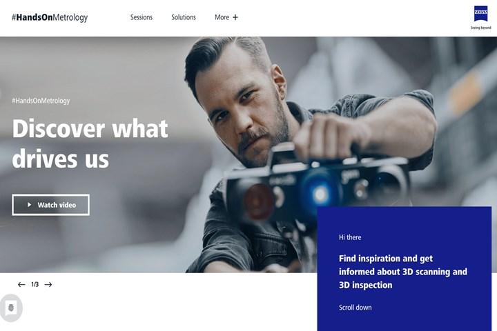 GOM's new 3D scanning platform
