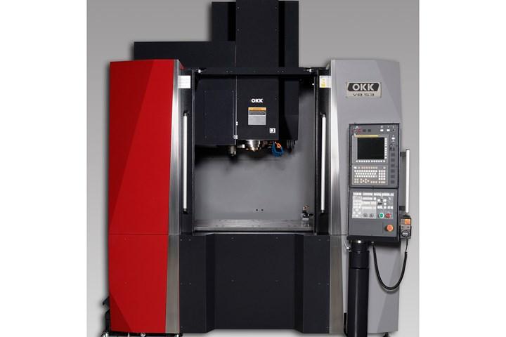Methods Machine Tools' OKK VB53avertical machining center