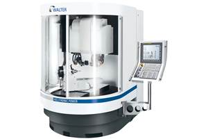 Tool Grinding Machine Excels at Complex Tool Production