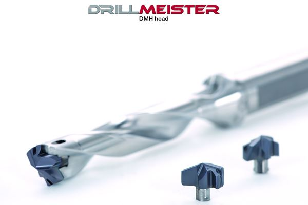 Robust Exchangeable Head Drill Design Protects Drill Corner Fracture Damage image