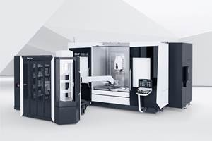 DMG MORI's DMF 200|8 Compatible with Long Mold Inserts