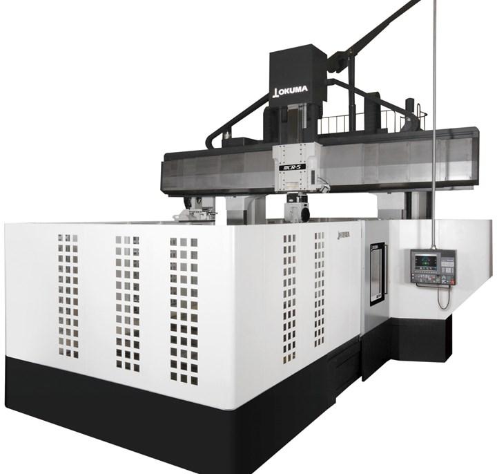 Okuma America's MCR-S double column machine