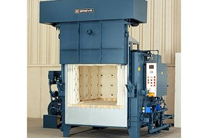 Gas-Heated Furnace Optimizes Mold Preheating