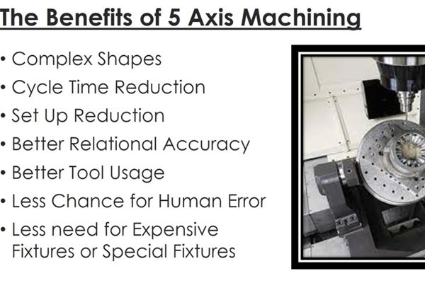 WEBINAR: How to Take Advantage of 3+2 and Simultaneous 5-Axis Machining to Increase Productivity  image