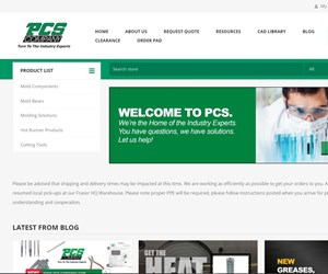 PCS Unveils New Company Website
