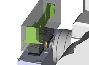 ESPRIT Probing Cycle Option Improves CAM Software Setup and Accuracy