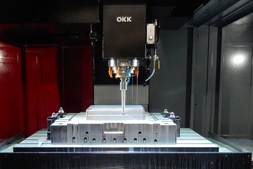 Roughing and Finishing on One Highly Accurate Machine