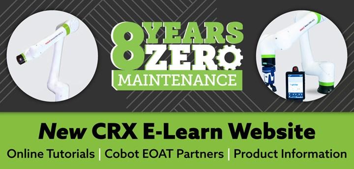 FANUC CRX Cobot website.