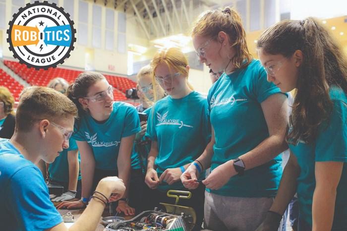 Big KaiserPresents Fifth Annual Donation to National Robotics League
