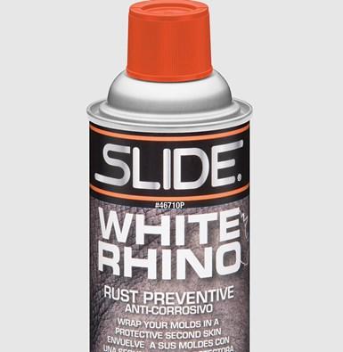 Slide Product's White Rhino rust preventative spray