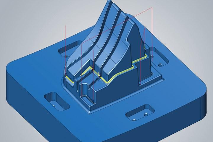 CAD/CAM Software Suite Enhancements Optimize Machine Tools and Molds