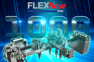 HRSflow Demonstrates FLEXflo Evo Continuous Flexible Flow Control for Injection Molding