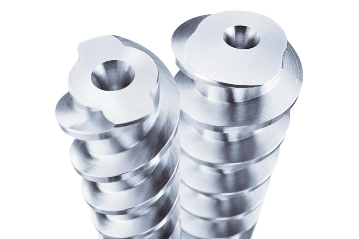 Hasco stainless steel spiral cores