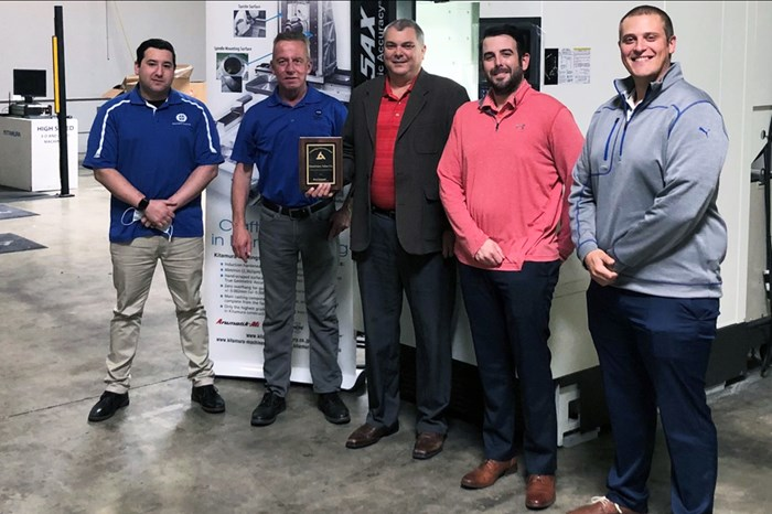 Machinery Sales Co. Wins Kitamura Outstanding Achievement in Sales Award