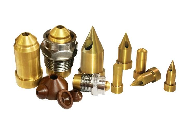 Mastip's G5 carbide tip range.