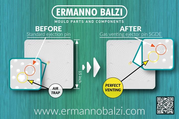 Ermanno Balzi comparison improved part quality.