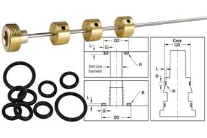 Mold Components Target Route Cooling Lines